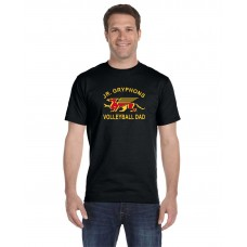 GYV  Jr. Gryphons Dad Short Sleeve T-shirt
