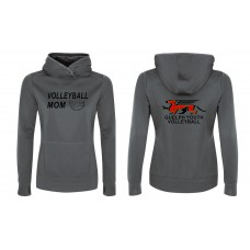GYV Volleyball Mom Game Day Performance Fleece Hooded Sweatshirt