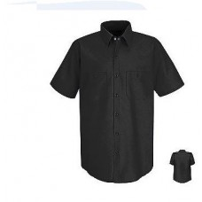 Short Sleeve Industrial Solid Work Shirt