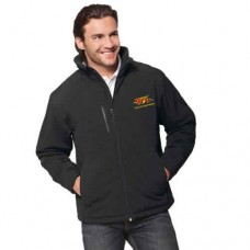 Insulated Softshell Jacket - Black