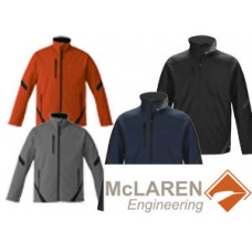 Unlined Colour Contrast Softshell