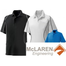 Snag Protection Colour-Block Polo with Piping